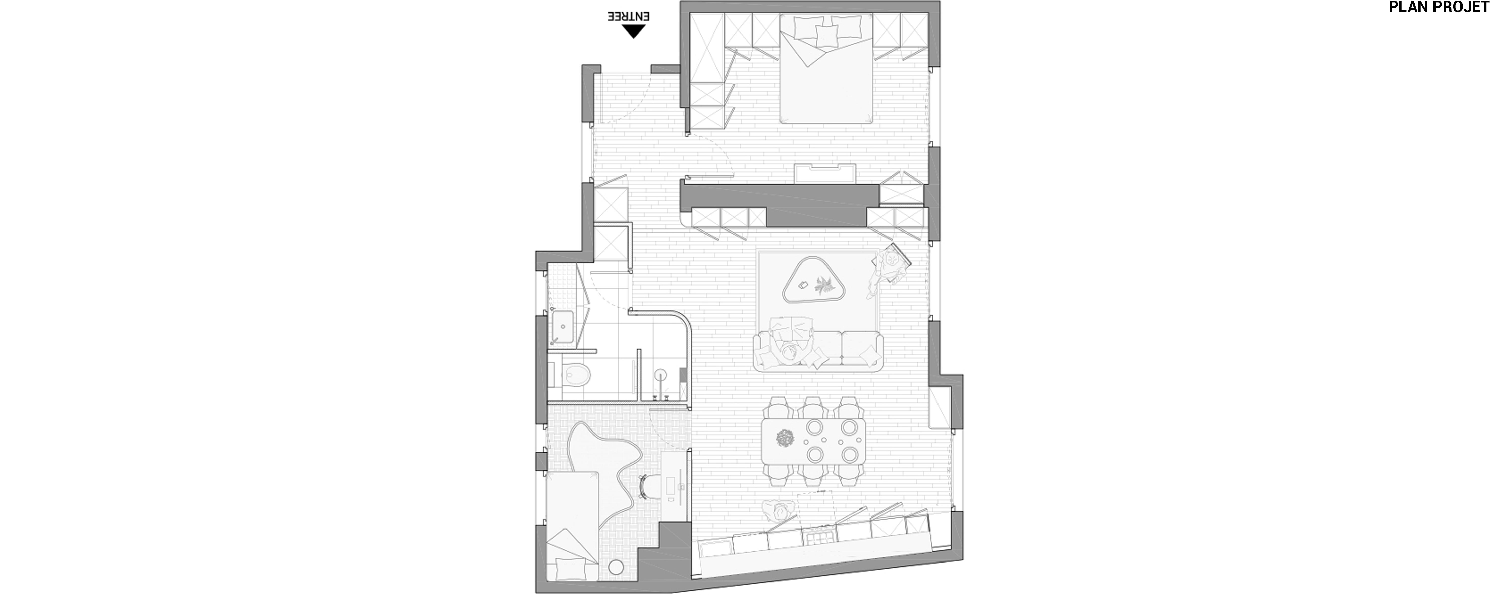 BATIGNOLLE – Plan projet bis