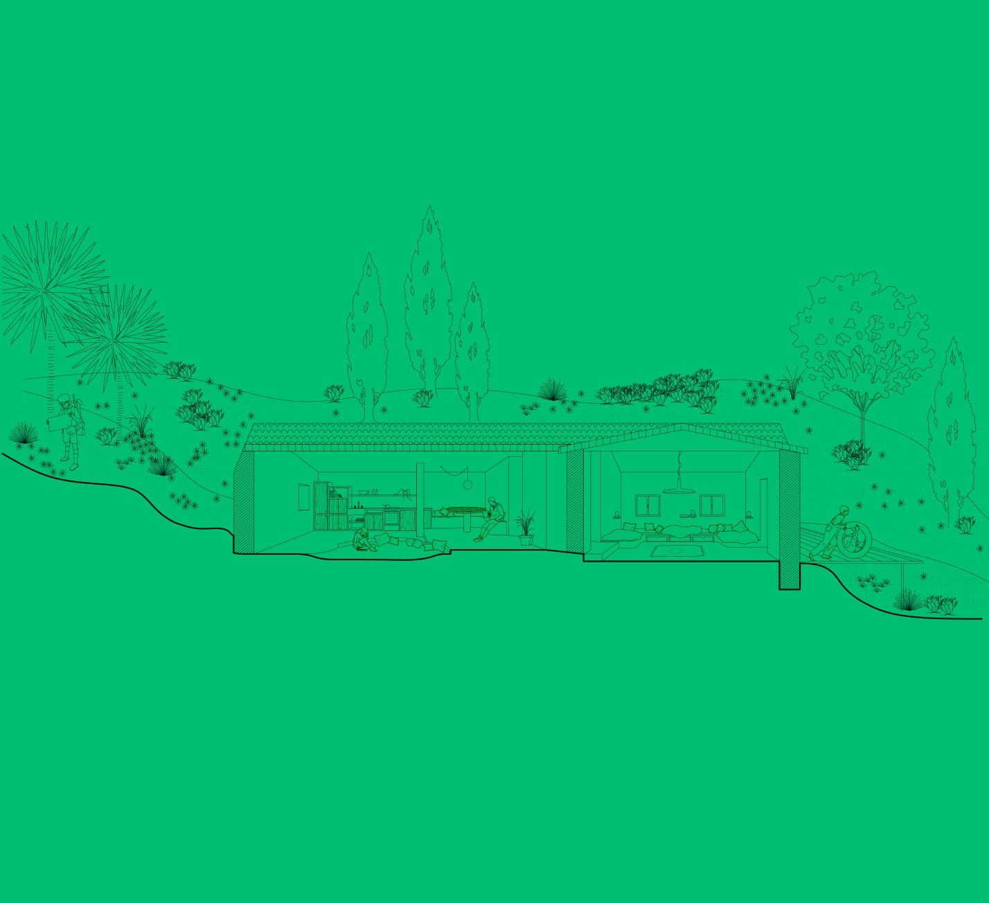 Projet-Bergeries-Atelier-Steve-Pauline-Borgia-Architecte-interieur-Coupe-01-min